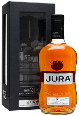 Jura Scotch Single Malt 21 Year